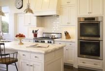 White kitchens / Vintage white kitchen / by North Fork Vintage