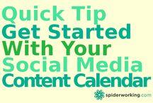 Blogging / Content Marketing / by Spiderworking.com