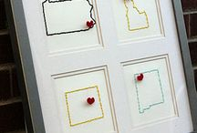 Craft Ideas / I just love these crafts! Now all I need is a craft room...