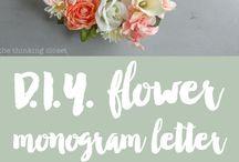 flower themed birthday party ideas
