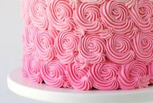 Cakes: Pink / by Bonnie Merchant