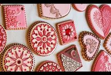 stencil cookies / by Rosa M Fernández