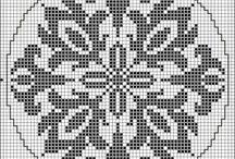 cross stitch patterns / by Dena Flatt