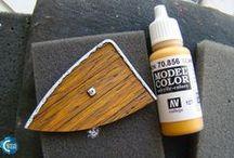 pintado de maderas