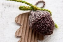 Nature Themed Knits & Crocheted Items