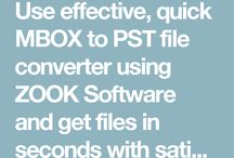 MBOX to PST Converter