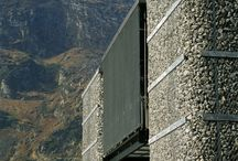 Gabion House Wall