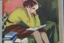 gamla  FINSKA reklam, posters och tidningar, illustrationer och kort