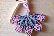 Ballerina quilled lady