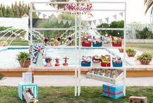 ¡La vida es una tómbola! / Original y divertido. Nuestro Candybuffet inspirado en una tómbola muy dulce. Para disfrutar con tus invitados en tus celebraciones más especiales.