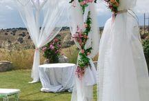 Decoración capilla matrimonio