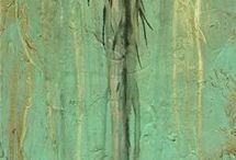 Soyut ağaçlar