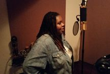 Studio Sessions / At the recording studio working on my debut album