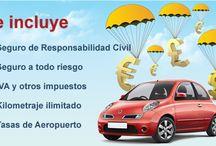 Alquiler de coches Espana / Coche de vacaciones de España en línea con facilidad.