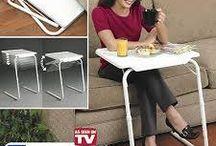 Table Mate II 2 Portable Adjustable Dinner Cum Laptop Tray