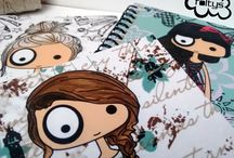 illustrated notebooks foltys / Cute notebooks with original foltys illustrations