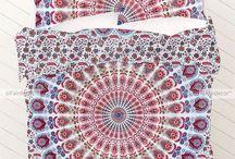 Twin Mandala Bedding Duvet / http://fairdecor.com/-twin-mandala-bedding-duvet