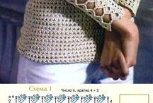 blusa crochê bege