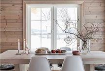 interior casa de lemn