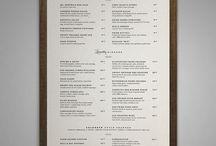 menu restau