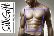 The Trapezoid Male Body Shape / Trapezoid Male Body Shape is seen as the perfect male body shape with broad shoulders, bulky arms and narrow hips the body is nicely proportioned. The good news is that trapezoid men could wear a bin bag and pull it off. This body shape is said to be the easiest to dress and can wear a variety of styles.