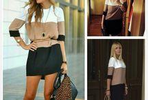 Woman dresses