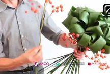 bouquet verde aspidistra