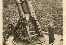 moździerze I WW i II WW