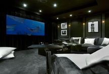 Luxury Chalet Cinema Rooms