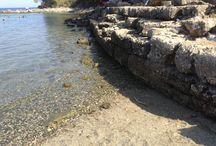 Phaselis- Kemer -Turkey / Holiday in Turkey, antique places to visit, Mediterrenean sea