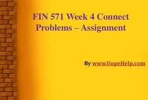 FIN 571 Week 4 Connect Problems / Develop the professionalism with FIN 571 Week 4 Connect Problems and get the instant results.
