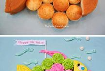 Easy kids cakes / Cute kids cakes you can make yourself.