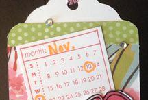 mini Calendar M1050