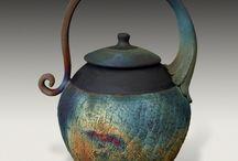 Pottery/Ceramic Teapots / by Andrea Ellis