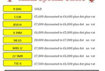 Xmas Specials - Number Plates / Special Offers on Number Plates for Xmas
