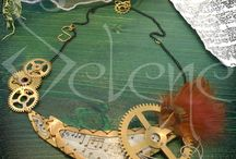 Steampunk - La Steampunkquerie! / Handmade steampunk jewels and accessories