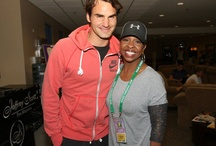 Tennis Players and Celebrities / by The Slice