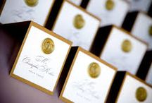 Anna - seating / Seating card ideas.  Note that I have a sunflower wax seal that will probably use on your invite so these kind of go along with that for the most part.  Toblerone placecard is also cool seating/favor combo.