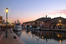 Cesenatico:the canal port