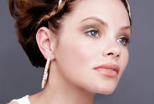 My Work - London Muse Shoot / 2 Bridal inspired looks created for photoshoot at the end of London Muse training course