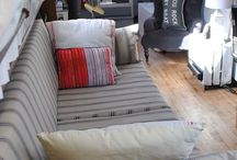 Canal boats and interiors