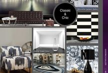 Modern Contemporary / The classic color combination of black and white makes any room — from living rooms to bedrooms — sophisticated, chic, and timeless. When you have a black and white room, there is no need for additional colours, as they provide a striking contrast and add drama like no other decorating theme. For a classic example of our black and white offerings, view our Modern Contemporary showcase of interior furnishings.