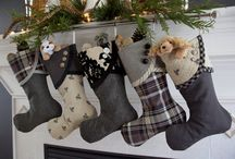 Christmas black and grey