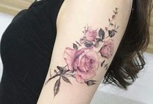 Tattoos with rose