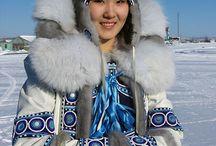 Portret eskimo cultuur
