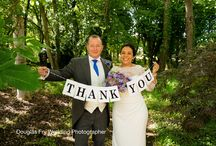 Thank You Card - Ideas / Wedding Photographs taken specifically for Thank You cards after the wedding day.