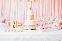 Pink & Gold 1st Birthday