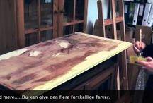 """Annie Sloan """"Chalk Paint™"""" projects / De forskellige møbler jeg gennem tiden har malet med Annie Sloan """"Chalk Paint™"""" - møblerne sælges i min forretning i Frederikssund eller via min webshop."""