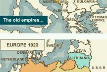 Europe, maps