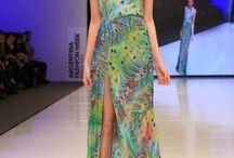 vestidos tropicales